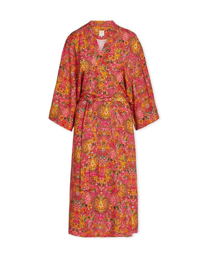 Pip Studio Pip Studio Naomi Kimono Pippadour Pink XL