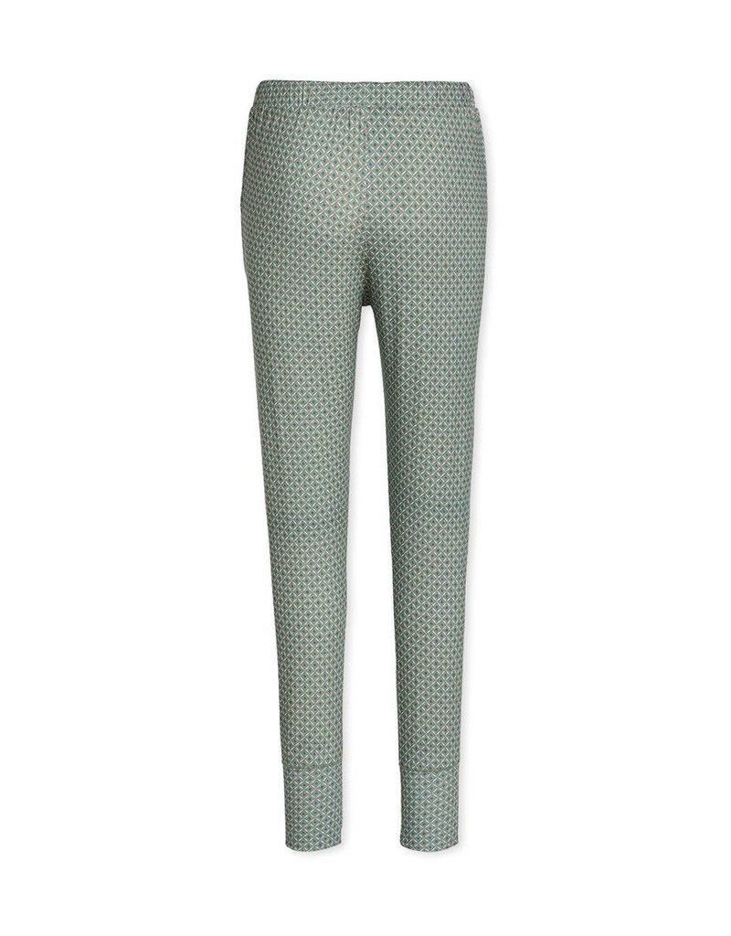 Pip Studio Pip Studio Bobien Long Trousers Ornamental Green XL
