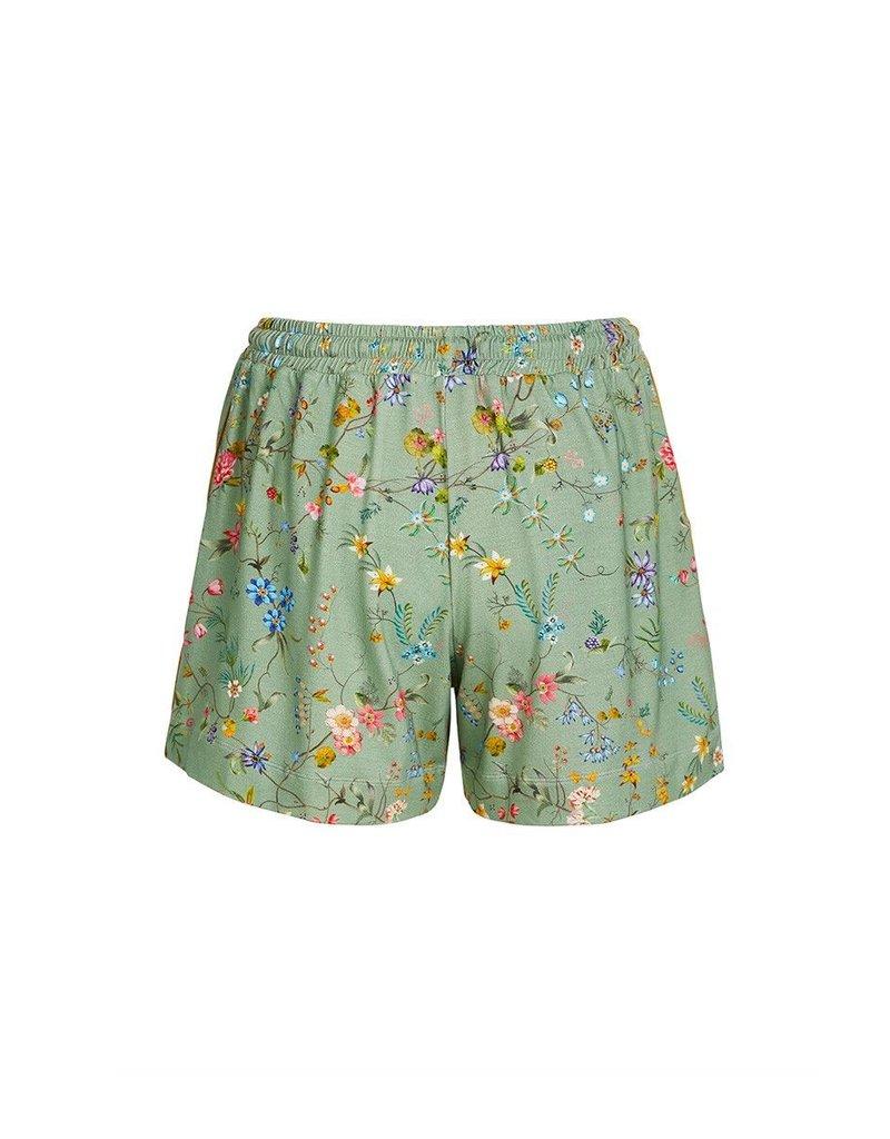 Pip Studio Pip Studio Bob Short Trousers Petites Fleurs Green M