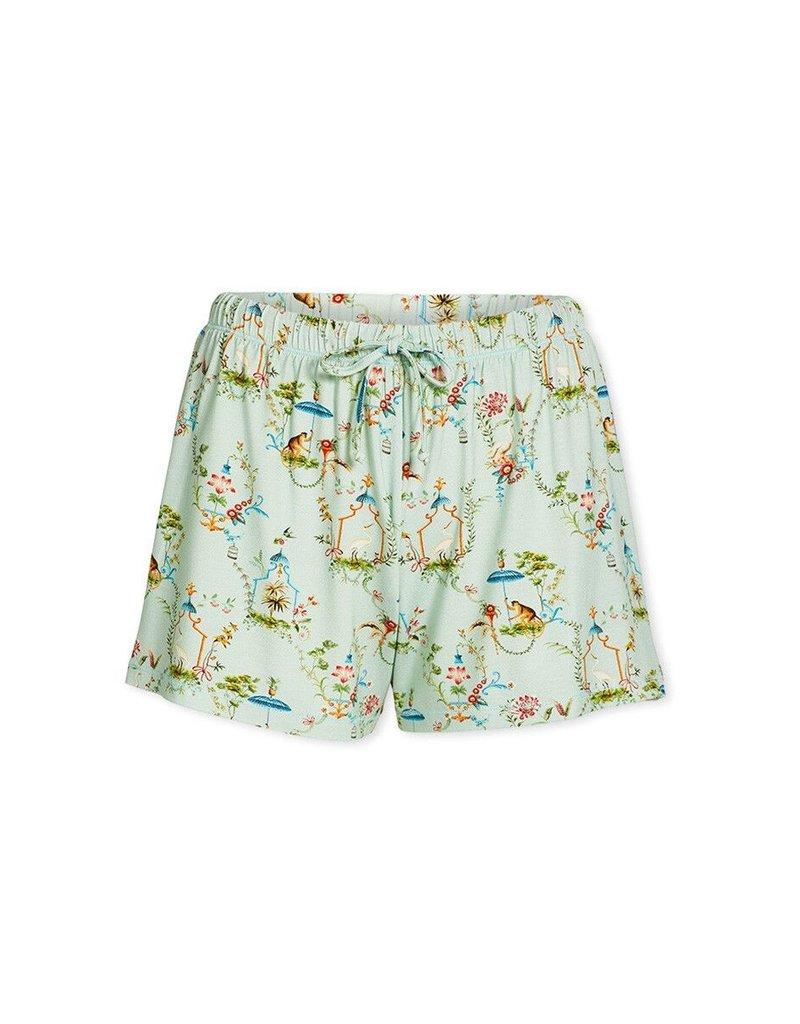 Pip Studio Pip Studio Bonna Short Trousers Singerie Light Green M