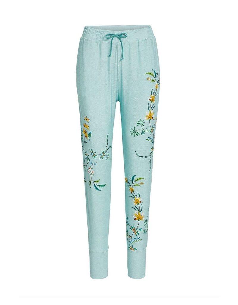 Pip Studio Pip Studio Bobien Long Trousers Grand Fleur Blue XL