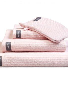 Vandyck Home Uni Light Pink Badhanddoek 90x180