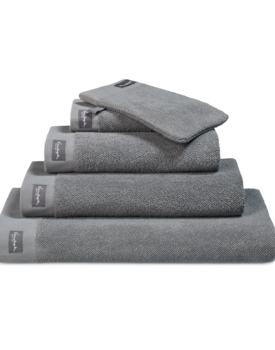 Vandyck Home Uni Mole Grey Badhanddoek 90x180