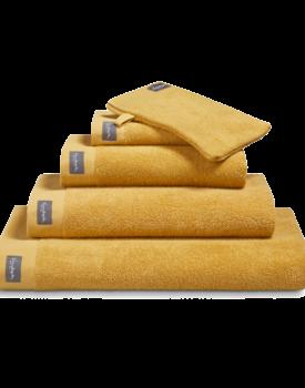 Vandyck Home Uni Honey Gold Washandje 16x21