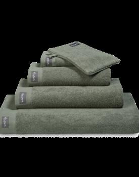 Vandyck Home Uni Olive Handdoek 60x110