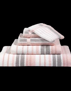 Vandyck Handdoek Ontario light pink 68x127