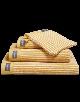 Vandyck Home Petit Ligne Honey Gold Handdoek 60x110