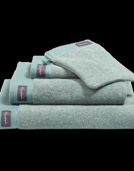 Vandyck Home Mouline Vintage Green Handdoek 60x110