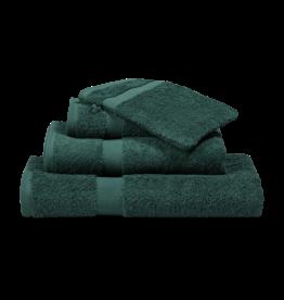 Vandyck Vandyck Prestige Plain Dark Green Gastendoekje 40X60 - 2Stuks