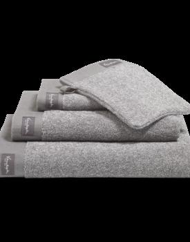 Vandyck Home Mouline Mole Grey Handdoek 60x110