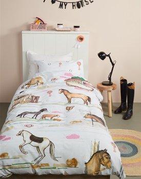 Beddinghouse Kids Horse Ranch Dekbedovertrek - Multi 120 x 150