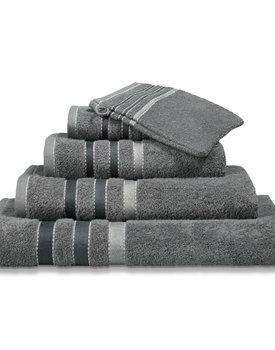 Vandyck badlaken 90x180 prestige lines  mole-grey