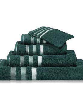Vandyck badlaken 90x180 prestige lines  dark-green