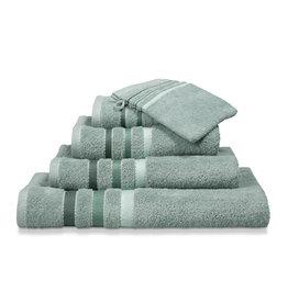 Vandyck Vandyck handdoek 60x110 prestige lines  vintage-green