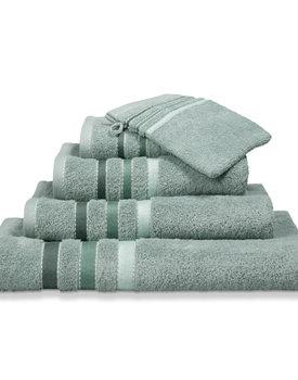 Vandyck handdoek 60x110 prestige lines  vintage-green