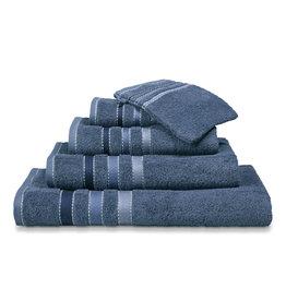Vandyck Vandyck handdoek 60x110 prestige lines  vintage-blue