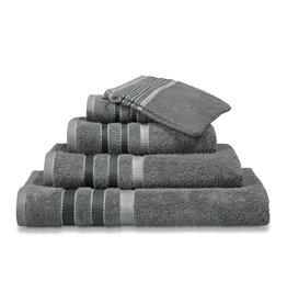 Vandyck Vandyck handdoek 60x110 prestige lines  mole-grey