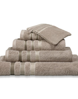 Vandyck handdoek 60x110 prestige lines  hazel