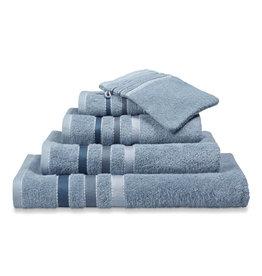 Vandyck Vandyck handdoek 60x110 prestige lines  dusty-blue