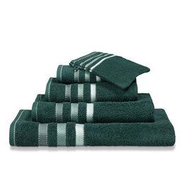 Vandyck Vandyck handdoek 60x110 prestige lines  dark-green