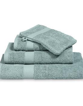 Vandyck handdoek Prestige plain 60x110 vintage-green