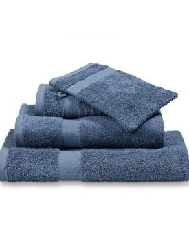 Vandyck handdoek Prestige plain 60x110 vintage-blue