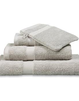 Vandyck handdoek Prestige plain 60x110 steel-grey