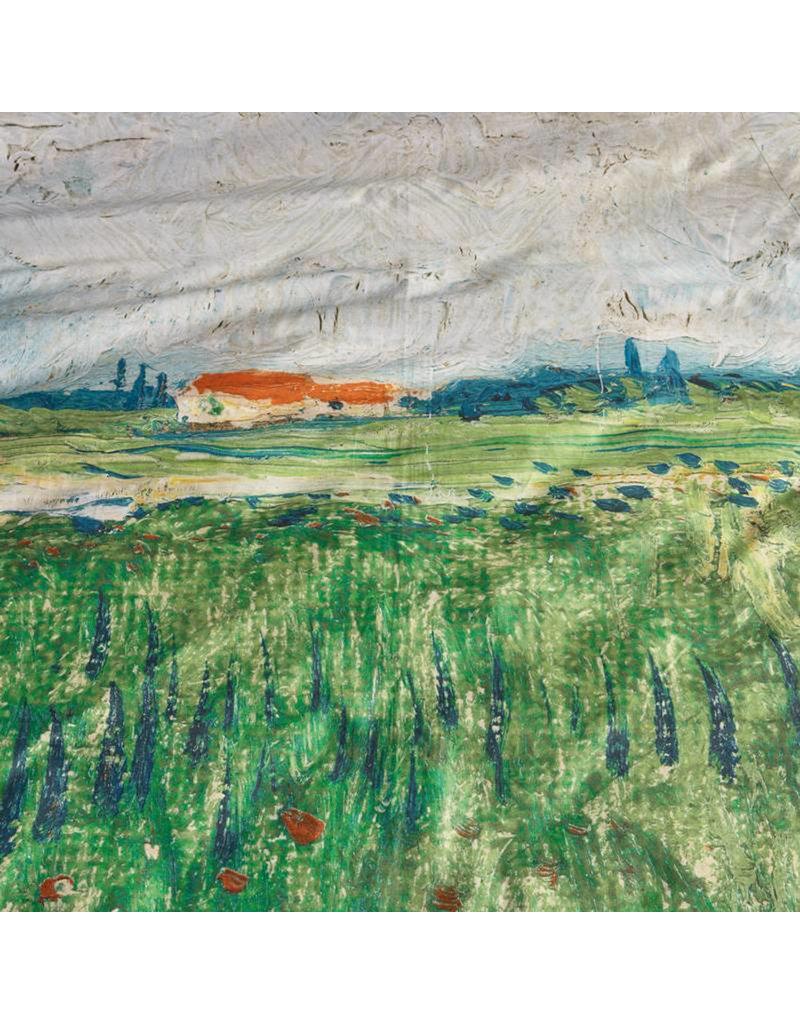Beddinghouse Beddinghouse x Van Gogh Museum Field With Poppies Dekbedovertrek - Groen 200x200/220