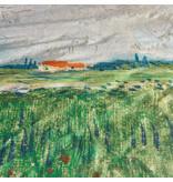 Beddinghouse Beddinghouse x Van Gogh Museum Field With Poppies Dekbedovertrek - Groen 240x200/220