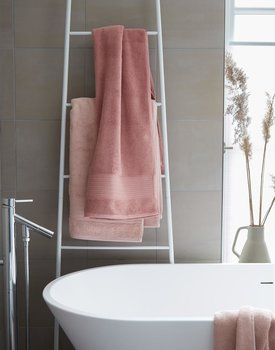 Beddinghouse Sheer Handdoek 60x110 Zacht Roze