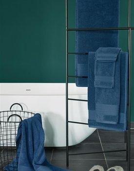Beddinghouse Sheer Gastendoeken 30x50 set van 4 Donker Blauw