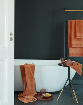 Beddinghouse Sheer Gastendoeken 30x50 set van 4 Oranje