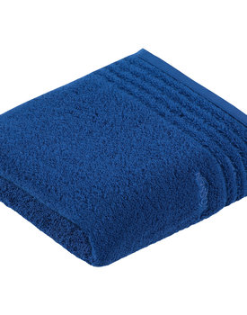 Vossen Handdoek Vienna Style Supersoft  Deep Blue 50x100