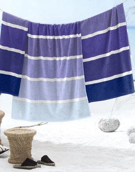 Seahorse Strandlaken Marbella Blue 100x180