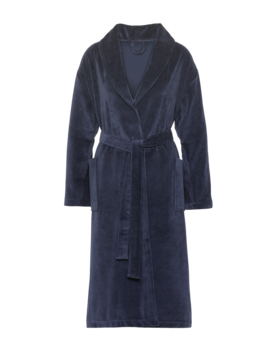 Vandyck Elegance Badjas Navy Xlarge