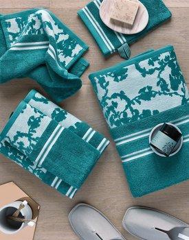 Beddinghouse x Van Gogh Museum Fleurir Guest Towel Blue