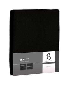 Bonnanotte Jersey Dubbel Stretch Hoeslaken Zwart 90x220