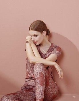 Essenza Saona Giulia Top Short Sleeve Rose XL