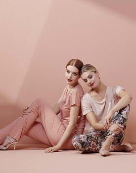 Essenza Ellen Uni Top Short Sleeve Rose XXL