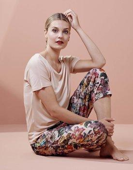 Essenza Ellen Uni Top Short Sleeve Rose L