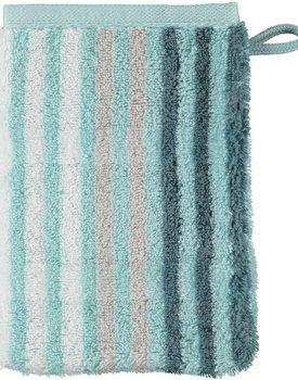 Cawö Noblesse Seasons Washandje Streifen - mint - 16x22