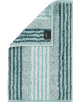 Cawö Noblesse Seasons Gastendoekje Streifen - mint - 30x50