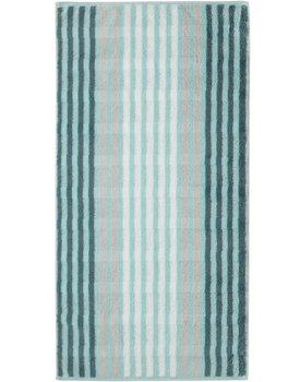 Cawö Noblesse Seasons Badhanddoek Streifen - mint - 80x150