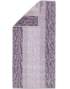 Cawö Noblesse Seasons Badhanddoek Allover - lavendel 80x150