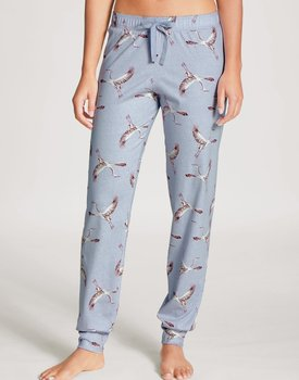 Calida dames pyjamabroek lang 29296 lovely blue