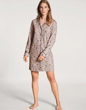 Calida dames nachthemd 34123 etherea taupe