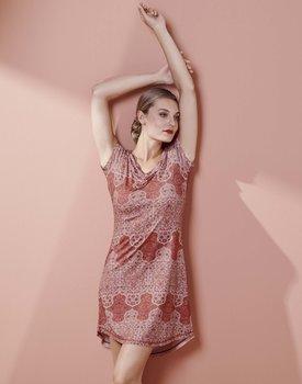 Essenza Isa Giulia Nightdress short sleeve Rose M