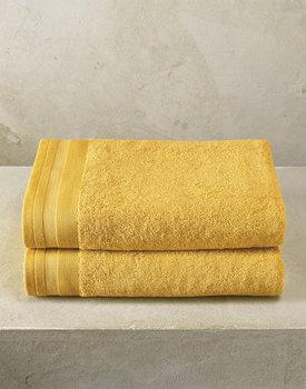 De Witte Lietaer badhanddoek Excellence 70x140 ochre