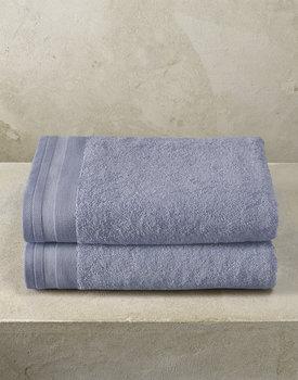 De Witte Lietaer badhanddoek Excellence 70x140 stone blue