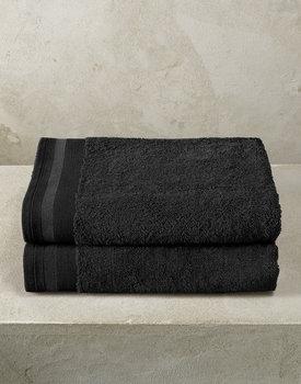 De Witte Lietaer badhanddoek Excellence 70x140 black